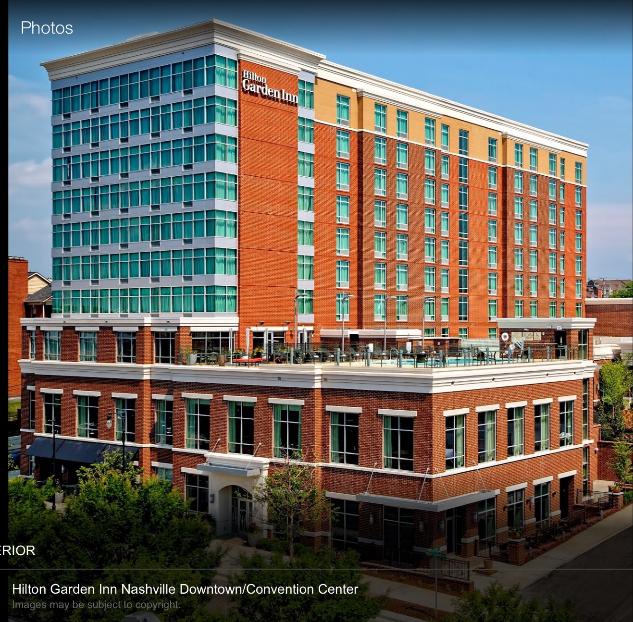 host hotel hilton garden inn 305 korean veterans boulevard nashville tn 37201 room rate 259 plus local taxes and fees reservations number - Hilton Garden Inn Nashville Downtown